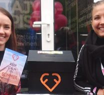 Sanna Honkala (left) and Susanna Mustajärvi promoting new online couching by Family First.