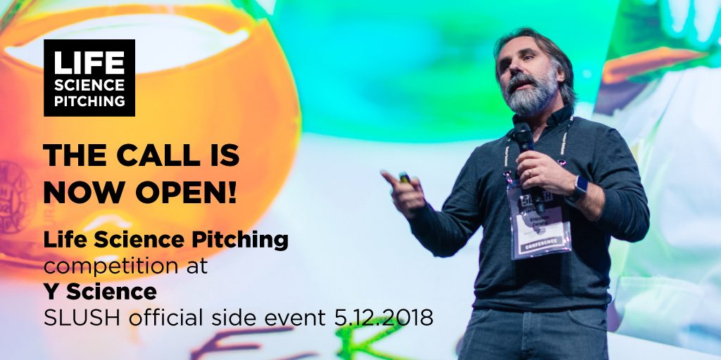 Life Science Pitching Competition at SLUSH Y Science – Apply now!