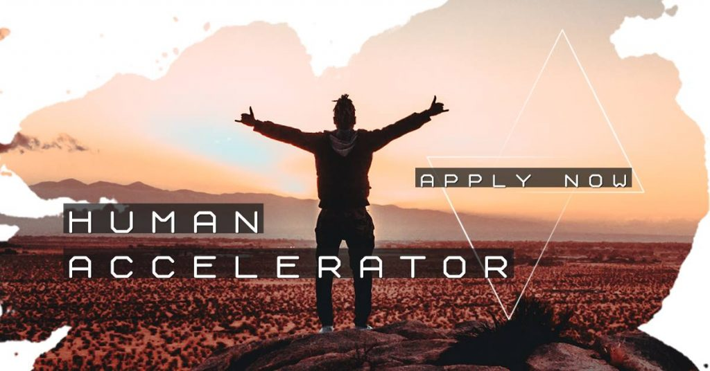 The application period for the Human Accelerator 2019 has started! APPLY NOW!