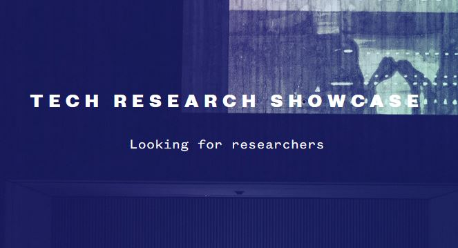 Tech Research Showcase 24.10.2019 call for research-based projects aiming for commercialization