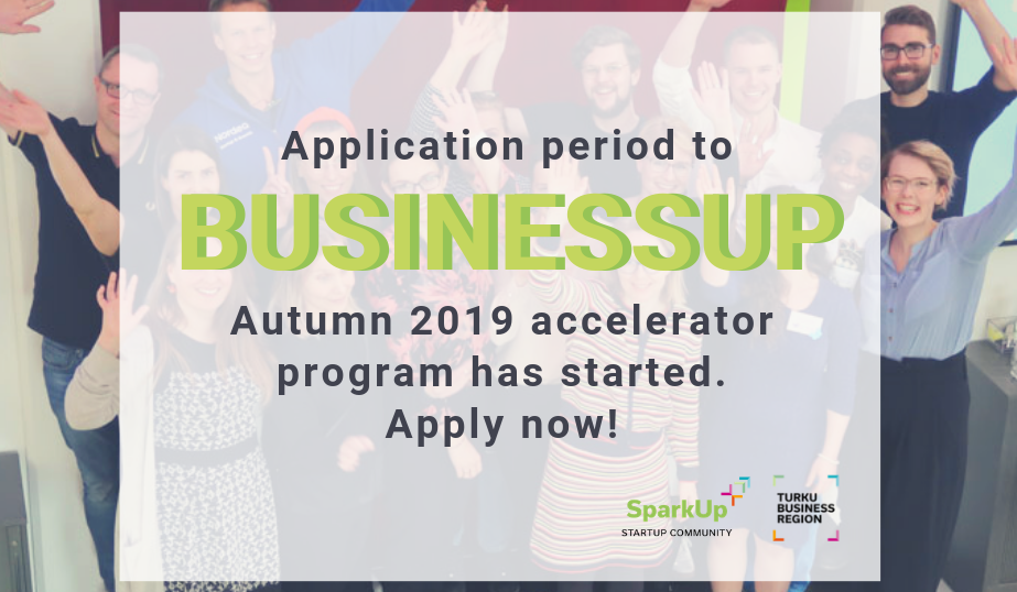 Application period to BusinessUp Fall 2019 has started!