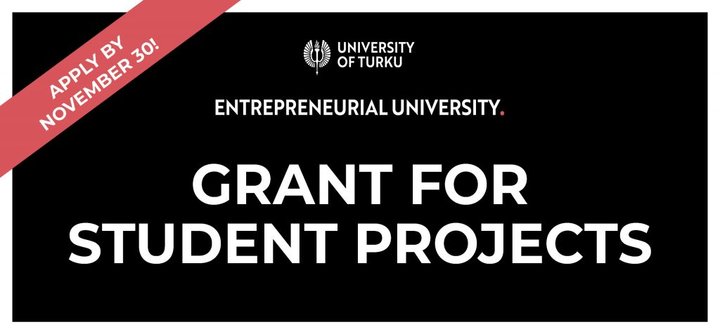 Grant For Student Projects – Apply by November 30!